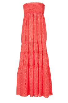 Juicy Couture Tomato Pretty Polka Dot Maxi Dress - Lyst