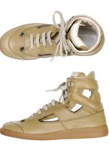 Maison Martin Margiela Brushed Leather Trainers