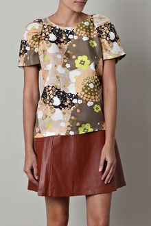 See By Chloé Kim Print Top - Lyst