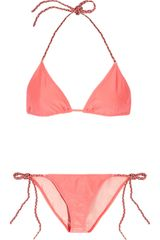 Tm By Tara Matthews Bliss Braid Trimmed Triangle Bikini