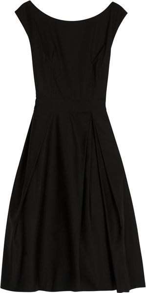 Acne Baby Full Skirt Dress in Black - Lyst