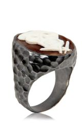 Amedeo Skull Ring - Lyst