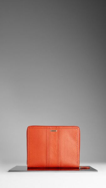 Burberry Python Ipad 2 Case in Orange (tangerine) - Lyst