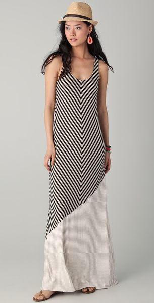 Ella Moss Wren Maxi Dress in Black - Lyst