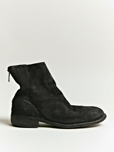 Perfect Guidi Midcalf Boots In Red  Lyst