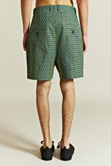 Jil Sander Mens Troy Shorts in Blue for Men (yellow) - Lyst