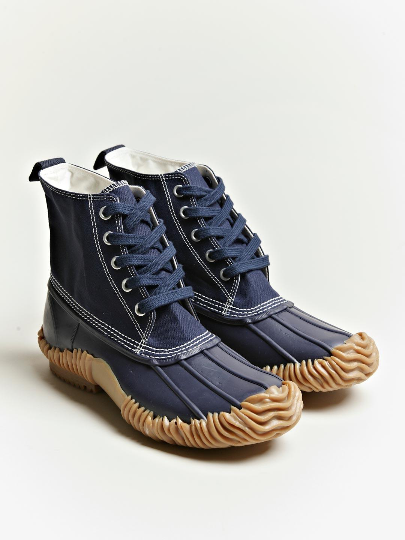Junya Watanabe Duck Boots In Blue For Men Lyst