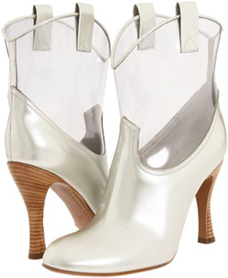 Marc Jacobs Ankle Boots in Silver (0) - Lyst