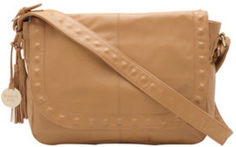 Patrizia Pepe Leather Shopper in Brown (desert) - Lyst