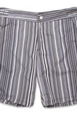 Paul Smith Striped Swim Shorts - Lyst
