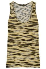 Proenza Schouler Tiger Print Tank in Animal (tiger) - Lyst