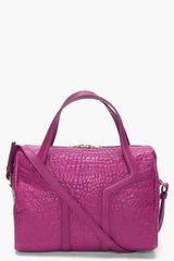 Yves Saint Laurent Amethyst New Y Duffle Bag - Lyst