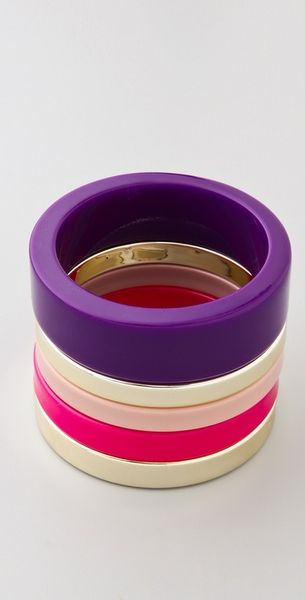 By Malene Birger Color Repetition Cirkella Bracelets - Lyst