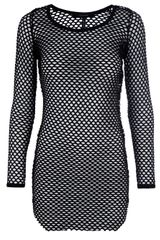 Isabel Marant Fishnet Shirt in Black - Lyst