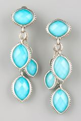 Lagos Venus Triple Drop Earrings - Lyst