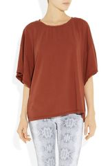 Oak Oversized Cottonjersey Tshirt in Red - Lyst
