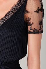Temperley London Celestine Dress in Black (ink) - Lyst