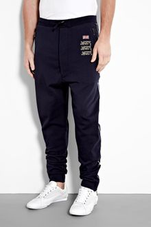 Vivienne Westwood Navy Uk Badge Sweat Pants - Lyst