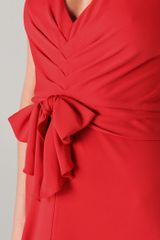 Bcbgmaxazria Sophia Gown in Red - Lyst