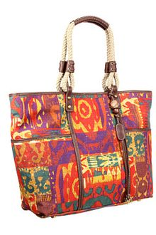 Rafe New York Tesa Tribal Print Ew Tote - Lyst