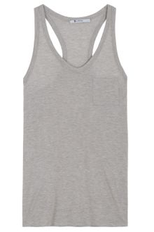 T By Alexander Wang Loose Fit Racerback Tank - Lyst