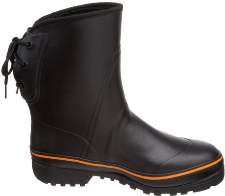 tretorn sub rubber boot in black for lyst