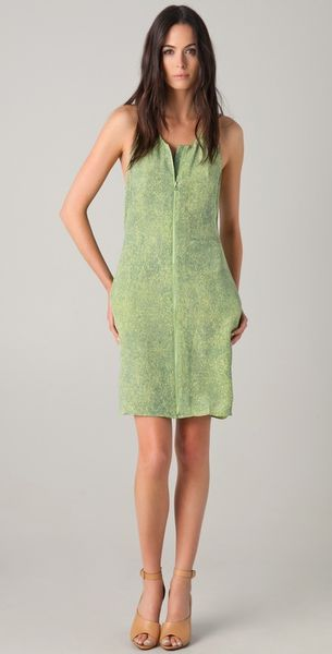 3.1 Phillip Lim Print Dress with Open Back - Lyst