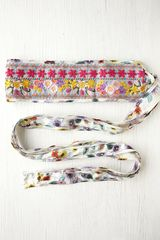 Free People Floral Galore Obi Belt in Multicolor (ivory) - Lyst