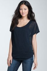 Trouvé Drop Stitch Back Sheer Top - Lyst