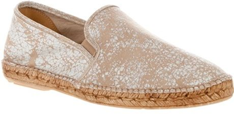 Collection Priveé Slip On in Beige for Men (multi) - Lyst