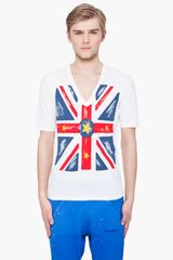 DSquared2 Hetero Union Jack T-shirt - Lyst