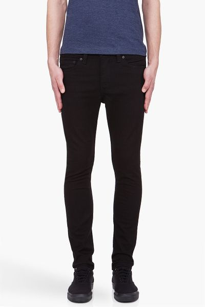 Levi's Black 510 Super Skinny Jeans in Black for Men - Lyst