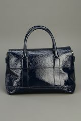 Mulberry Holiday Small Bayswater Satchel in Blue (midnight) - Lyst