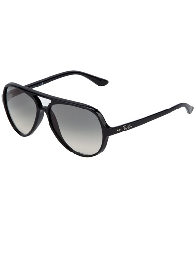 Ray Ban Round Frame Sunglasses : Ray-ban Round Frame Sunglasses in Black Lyst