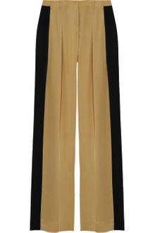 Robert Rodriguez Colorblock Wideleg Silk Pants - Lyst
