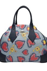 Vivienne Westwood Secret Heart Shoulder Bag in Multicolor (blue) - Lyst