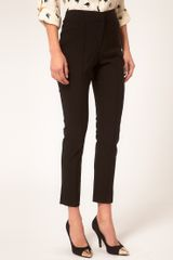 Asos Collection Asos Skinny Crop Trouser in Black - Lyst