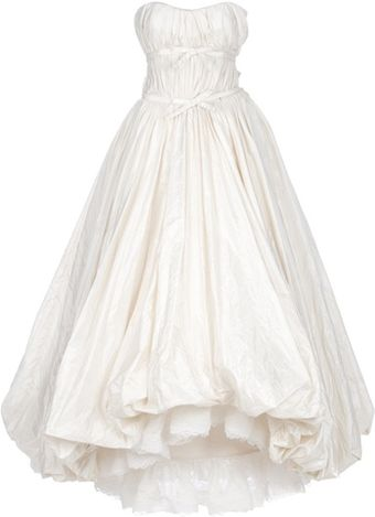Balenciaga Vintage Bridal Dress - Lyst
