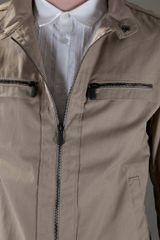 Bottega Veneta Zip Jacket in Beige for Men - Lyst