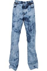 Bottega Veneta Bleached Jean in Blue for Men - Lyst