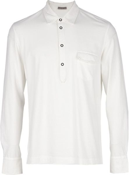 Bottega Veneta Classic Shirt in White for Men - Lyst