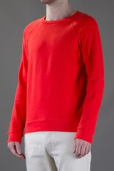 Cheap Monday Noel Sweatshirt in Orange for Men - Lyst