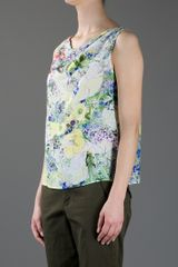 Erdem Silk Top in Multicolor (multi) - Lyst