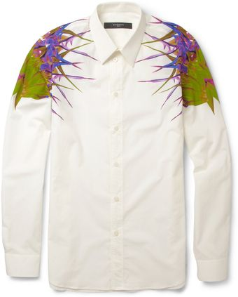 Givenchy Paradiseprint Cotton Shirt - Lyst