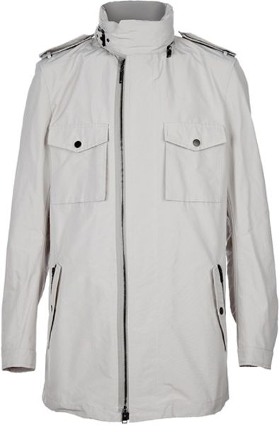 Lanvin Zip Jacket in Gray for Men (grey) - Lyst