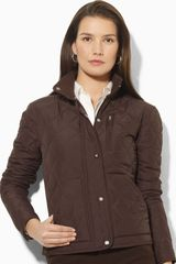 Lauren by Ralph Lauren Quilted Jacket - Lyst