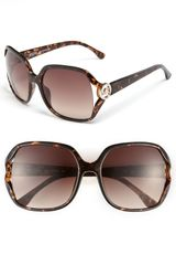 Michael by Michael Kors Oversized Sunglasses - Lyst