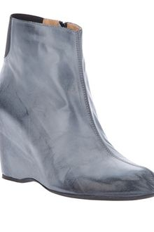 Mm6 By Maison Martin Margiela Wedge Ankle Boot - Lyst
