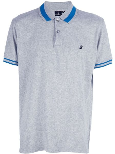 Paul Smith Classic Polo in Gray for Men (grey) - Lyst