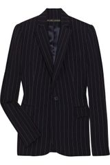 Ralph Lauren Black Label Sheldon Pinstripe Wool Blazer - Lyst